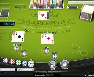 Blackjack Progressive US
