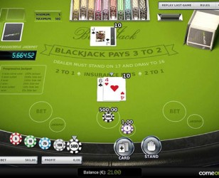 Blackjack Progressive US High Limit