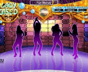 Lady Disco Scratch Card Slot Machine