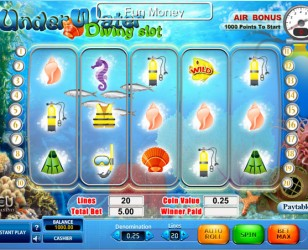 Under Water Slot Machine