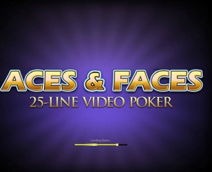 25-Line Aces And Faces Video Poker