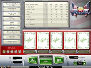 1Hand All American Video Poker