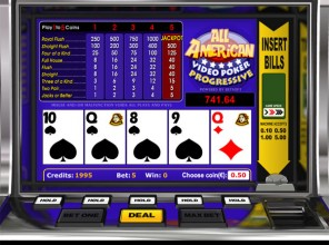 All American Progressive Video Poker