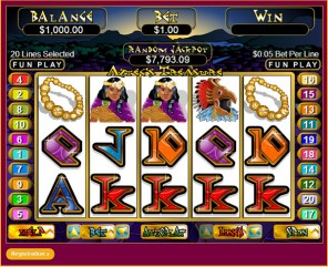 Aztec's Treasure Slot Machine