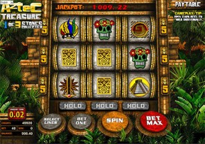 Aztec Treasure Progressive Slot Machine