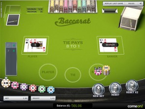 Baccarat Low Limit