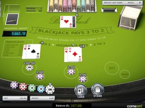 Blackjack Progressive US
