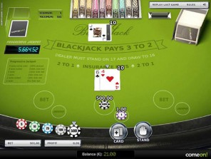 Blackjack Progressive US High Limit