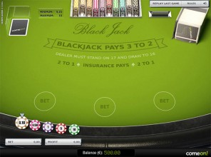 Blackjack US Low Limit