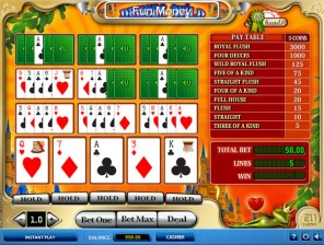 10Hand Deuces Wild Video Poker