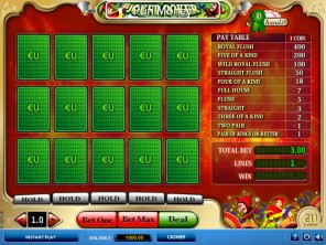 3Hand Joker Video Poker