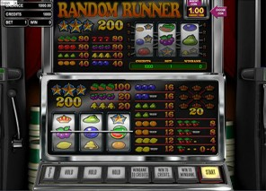 Random Runner Slot Machine
