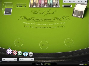 Single Blackjack