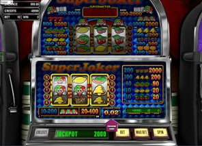 Super Joker Slot Machine