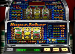 Super Joker VIP Slot Machine