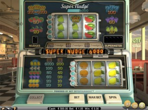 Super Nudge 6000 Slot Machine