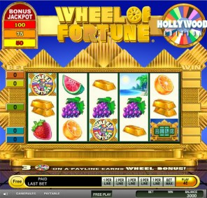 Wheel of Fortune Hollywood Slot Machine