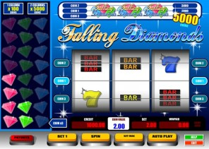 Falling Diamonds Slot Machine