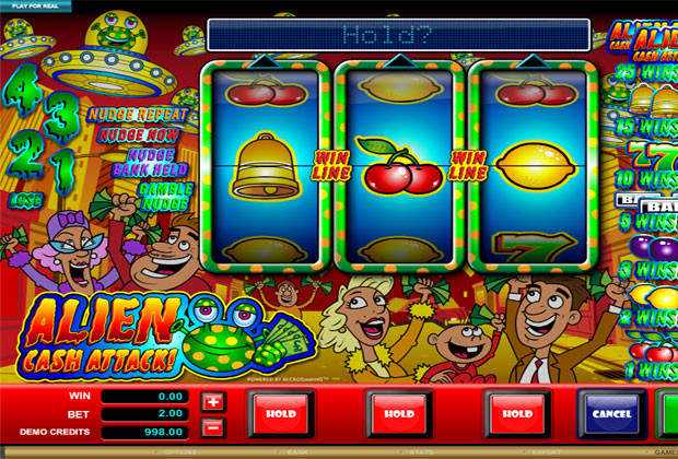Online Alien Slot Machine