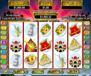Alladin's Wishes Slot Machine