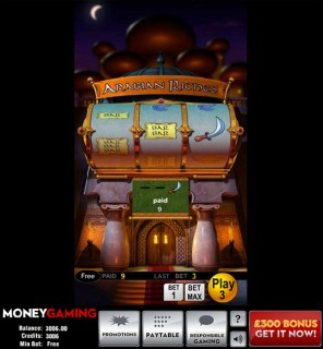 Arabian Riches Slot Machine