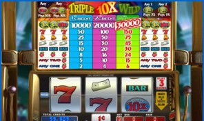 Triple 10x Wild Slot Machine