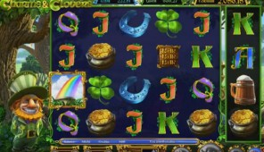Charms and Clovers Slot Machine