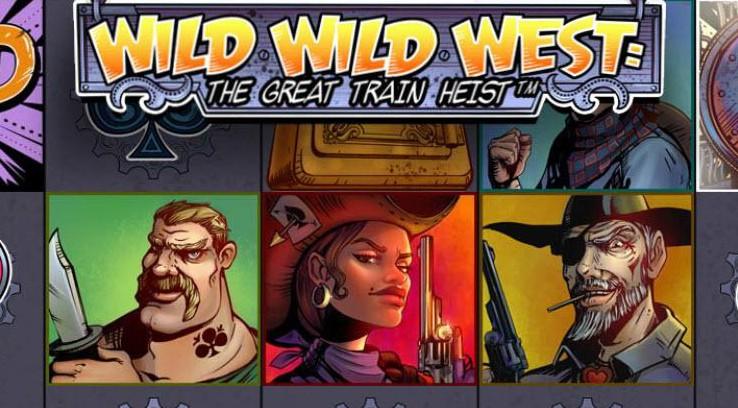 Wild Wild West The Great Train Heist from NetEnt
