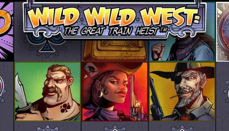 Wild Wild West: The Great Train Heist Slot Machine