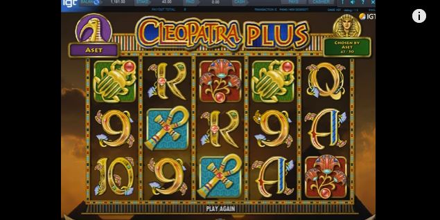 cleopatra plus from IGT