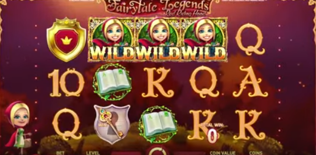 Fairytale Legends Red Riding Hood Slot Machine from NetEnt