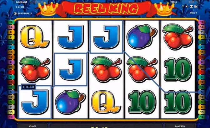 Reel King Slots from Novomatic