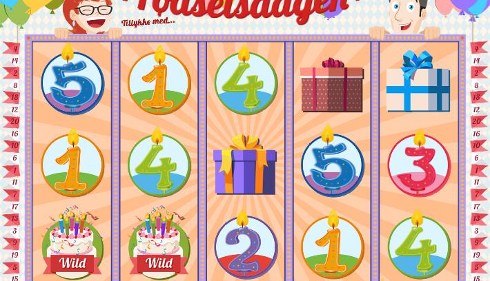 fodselsdagen from Play 'n Go