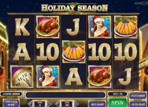 Holiday Season Slot Machine