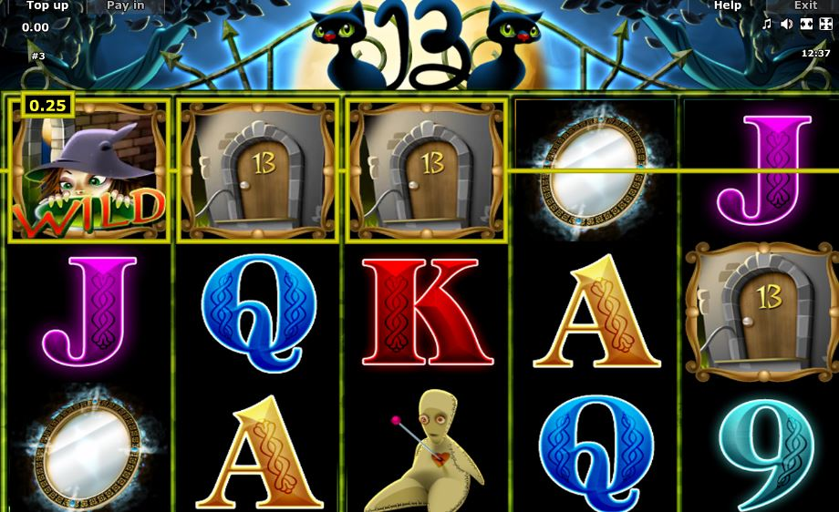 13 slot from Novomatic