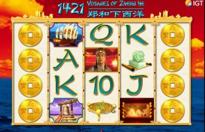 1421: Voyages of Zheng He Slot Machine