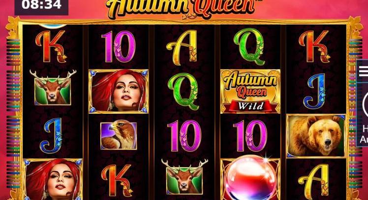 Autumn queen from Novomatic