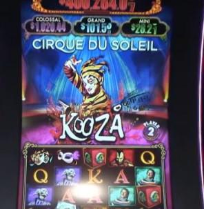 Cirque du Soleil: Kooza Slot Machine