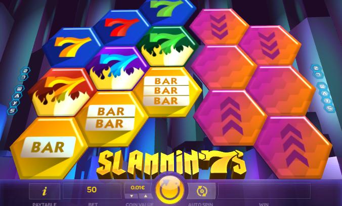 Slammin 7s from iSoftBet