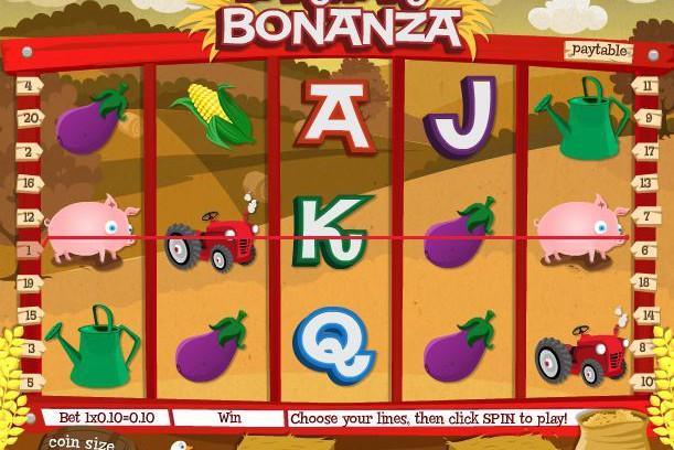 barnyard bonanza from Ainsworth