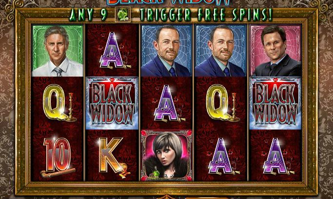 black widow slot from IGT