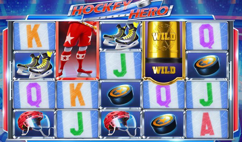 hockey hero slot machine from Push Gaming