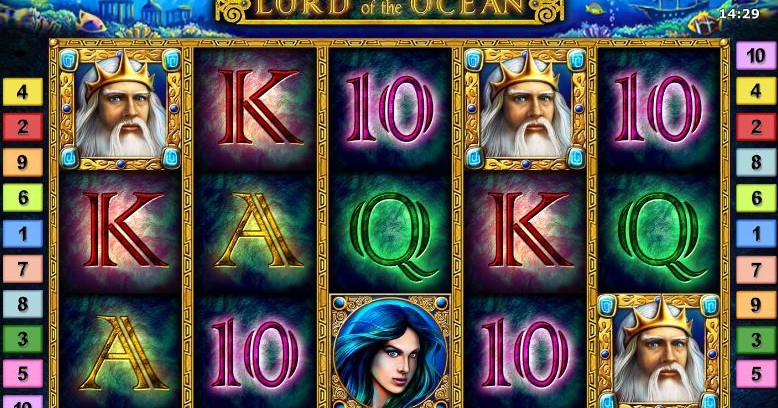 lord of the ocean slot from Novomatic