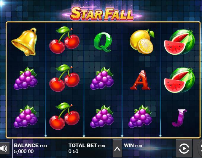 star fall from Push Gaming