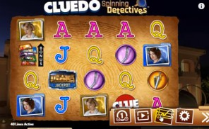 Cluedo: Spinning Detectives Slot Machine