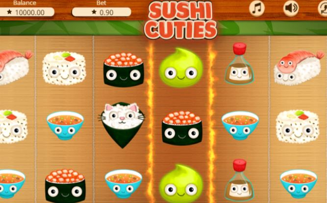 Sushi cuties slot from Booming Games