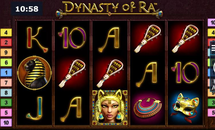 dynasty of ra from Novomatic