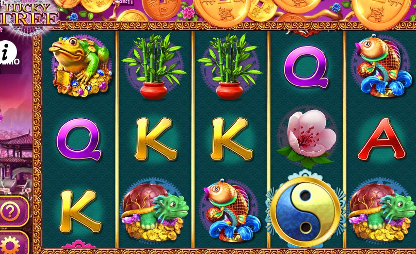 lucky tree slots from Bally Tech